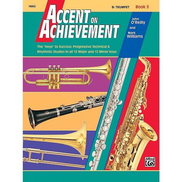 AlfredAccent on Achievement Book 3 B-Flat Trumpet