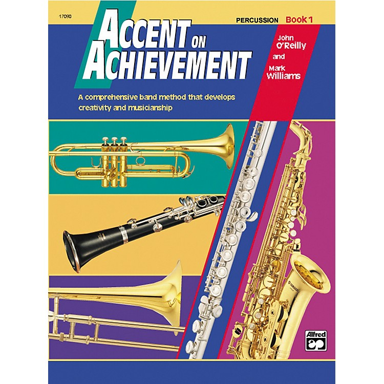 AlfredAccent on Achievement Percussion Volume 1 with CD