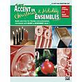 Alfred Accent on Christmas and Holiday Ensembles E-Flat Alto Sax/Bari Sax