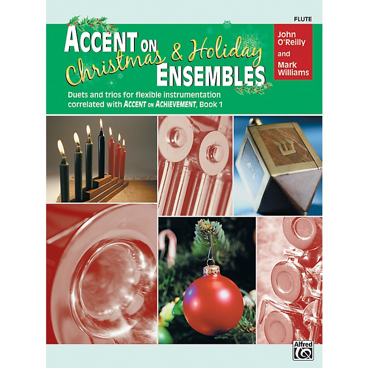 AlfredAccent on Christmas and Holiday Ensembles Flute