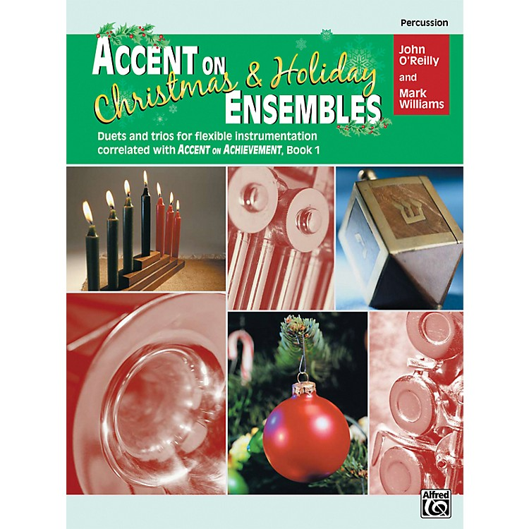 AlfredAccent on Christmas and Holiday Ensembles Percussion