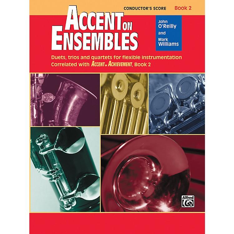 AlfredAccent on Ensembles Book 2 Conductor's Score