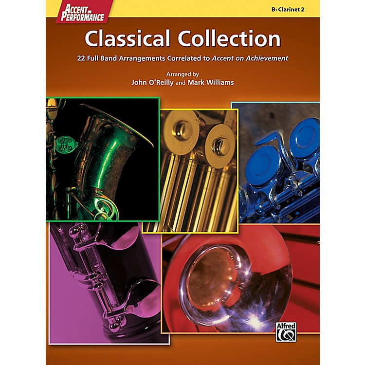 AlfredAccent on Performance Classical Collection Clarinet 2 Book