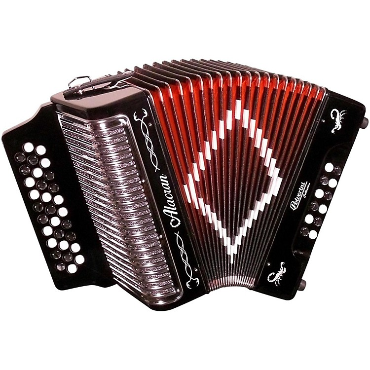 Alacran Accordion AL3112 Black with Case FBE 888365840376