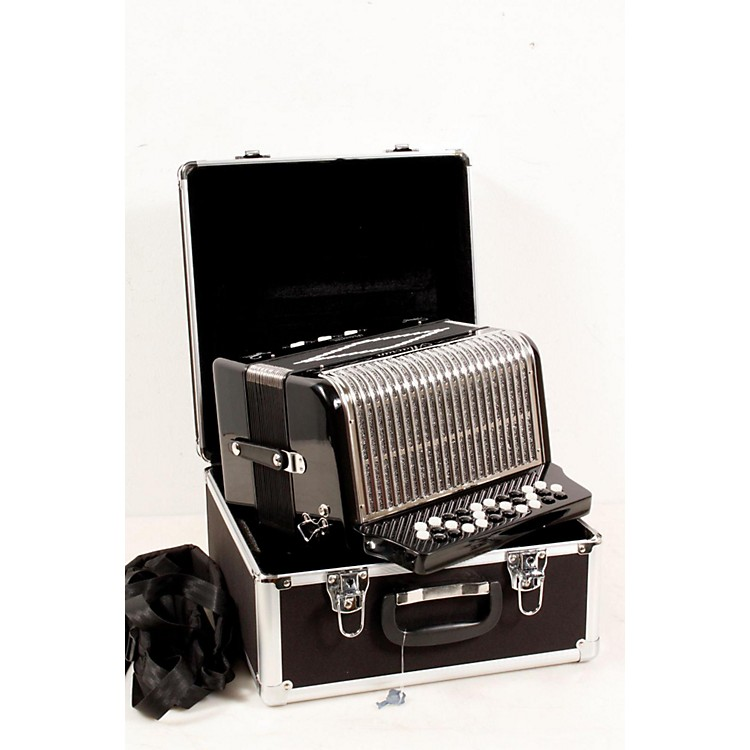 Alacran Accordion AL3112 Black with Case GCF 888365735610