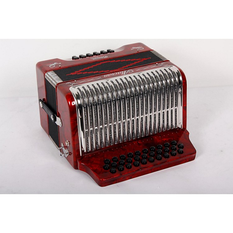 Alacran Accordion AL3112 Red with Case GCF 888365811741