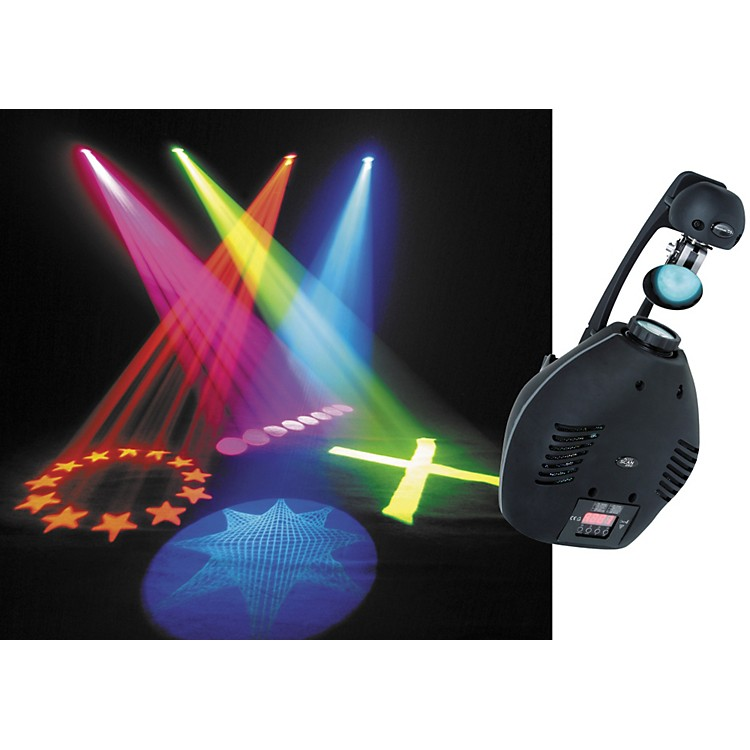 dj lights rental miami and broward american dj accu scan 250 250w discharge dmx intelligent 726