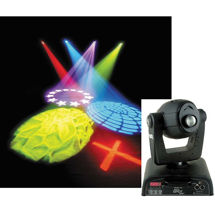 American DJ Accu Spot 300 DMX Moving Head Fixture