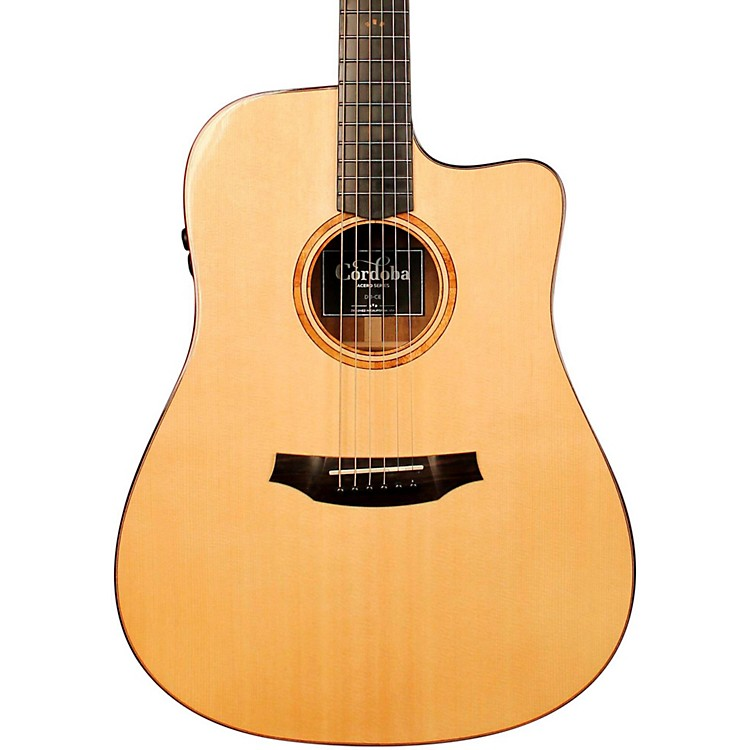 Cordoba Acero D11-CE Acoustic-Electric Guitar  888365727202