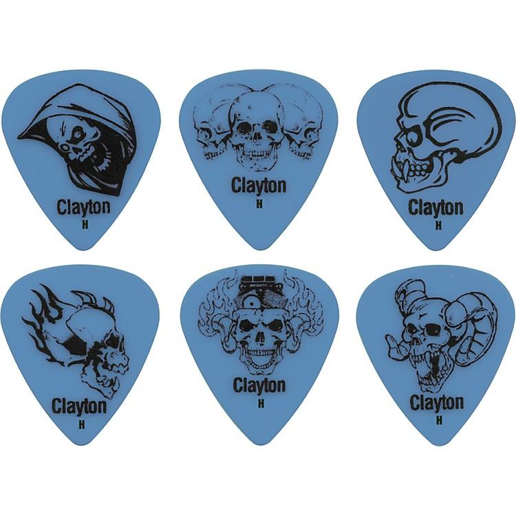 ClaytonAcetal Demonic Guitar PicksYellowMedium