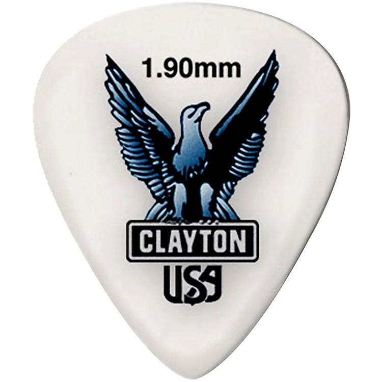 ClaytonAcetal Standard Guitar Picks1.9 mm1 Dozen