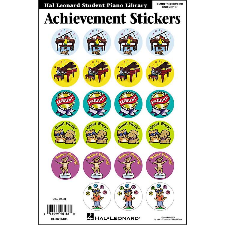 Hal LeonardAchievement Stickers Package Hal Leonard Student Piano Library