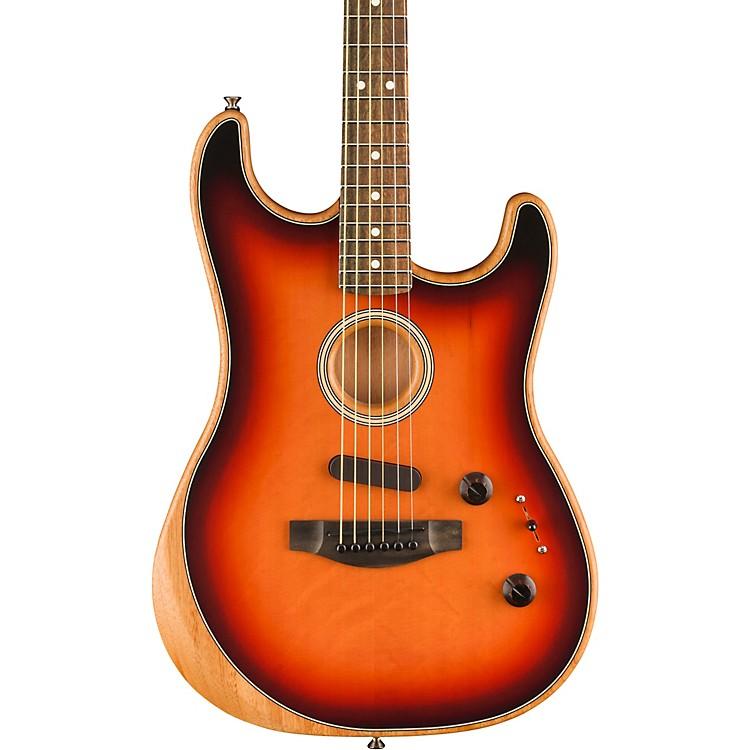 FenderAcoustasonic Stratocaster Acoustic-Electric Guitar3-Color Sunburst