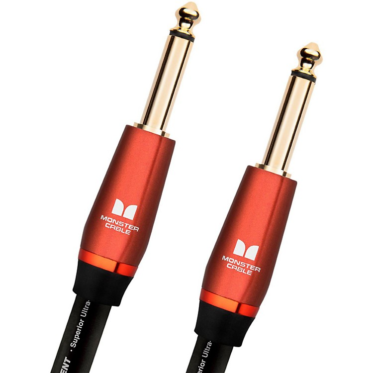 Monster Cable Acoustic 1/4 Inch Straight to Straight Instrument Cable 12 ft.