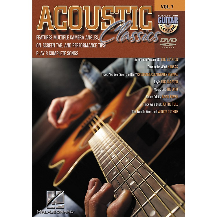 Hal LeonardAcoustic Classics - Guitar Play-Along Volume 7 (DVD)