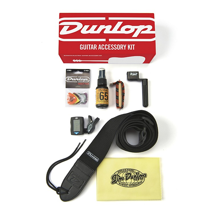 DunlopAcoustic & Electric Guitar Accessories Kit
