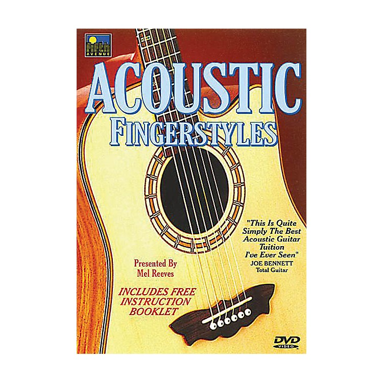 Music Sales Acoustic Fingerstyles Music Sales America Series DVD Written by Mel Reeves