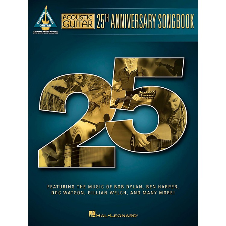 Hal Leonard Acoustic Guitar 25th Anniversary Songbook