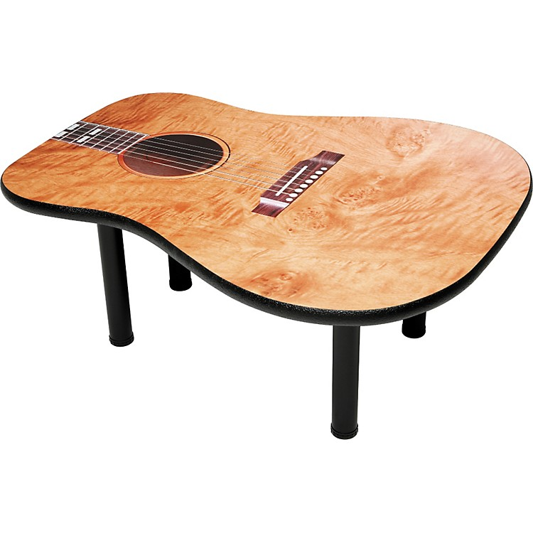 gear one acoustic guitar coffee table   music123