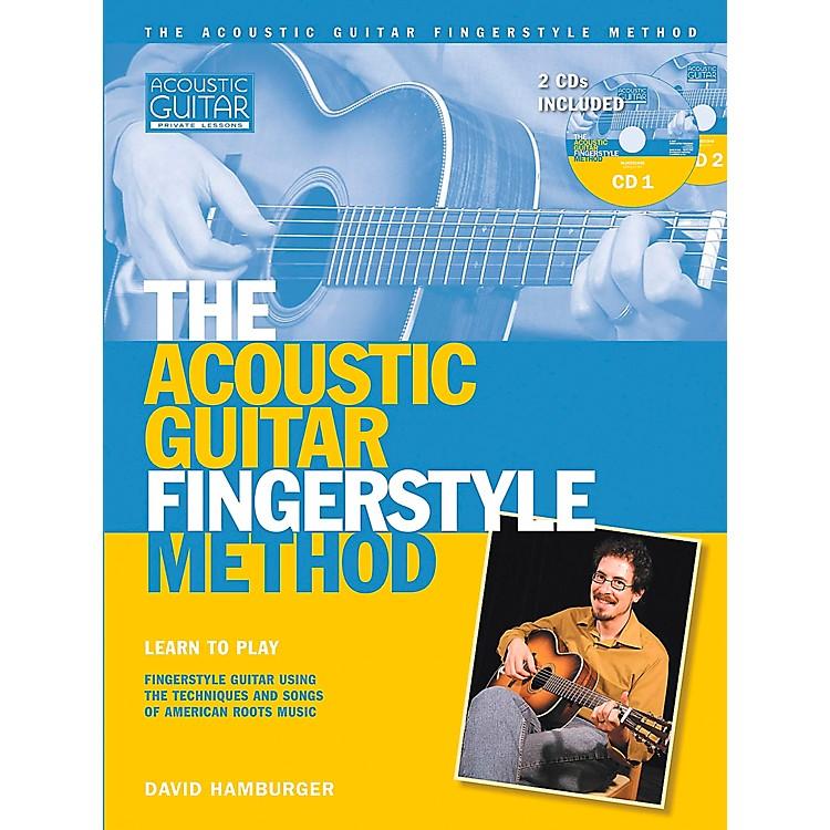 Hal LeonardAcoustic Guitar Fingerstyle Method Book with 2 CD Set