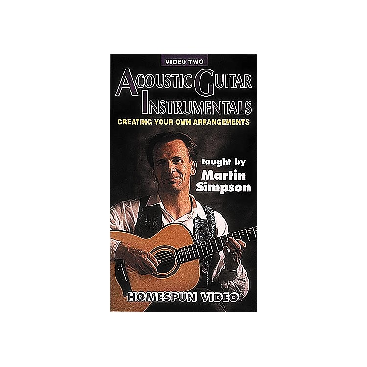 Homespun Acoustic Guitar Instrumentals 2 (VHS)