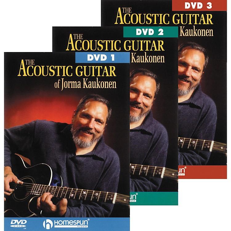 HomespunAcoustic Guitar Jorma Kaukonen 3 DVD Set