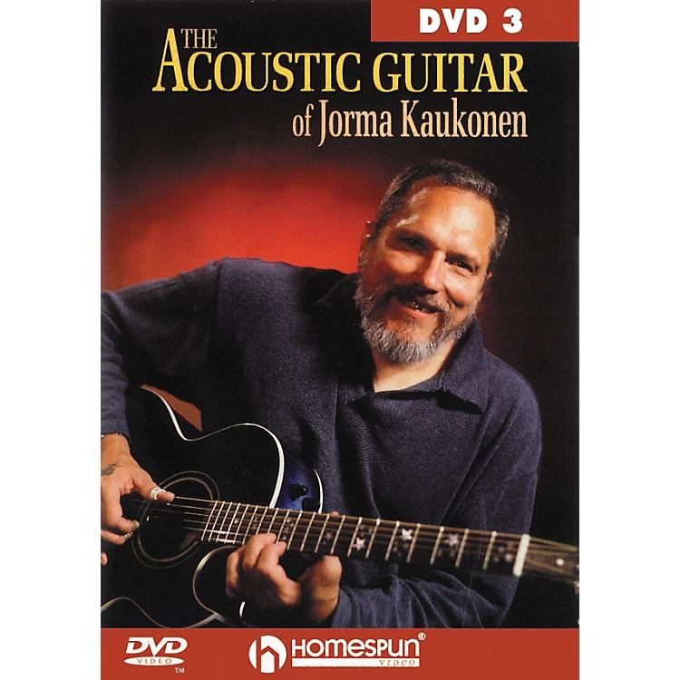 HomespunAcoustic Guitar Jorma Kaukonen 3 (DVD)