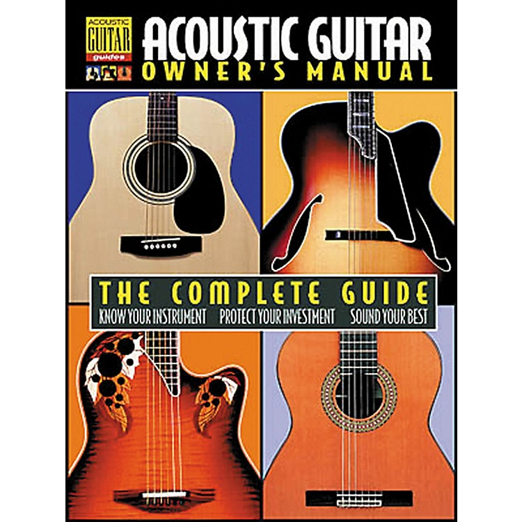 Hal Leonard Acoustic Guitar Owner's Manual Book