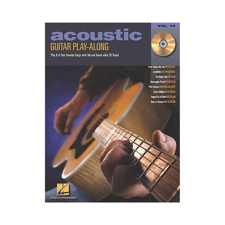 Hal Leonard Acoustic Guitar Play-Along Series Book with CD
