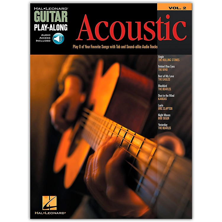 Hal Leonard Acoustic Guitar Play-Along Series Volume 2 (Book/Online Audio)