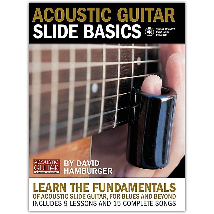 String Letter PublishingAcoustic Guitar Slide Basics (Book/Online Audio)