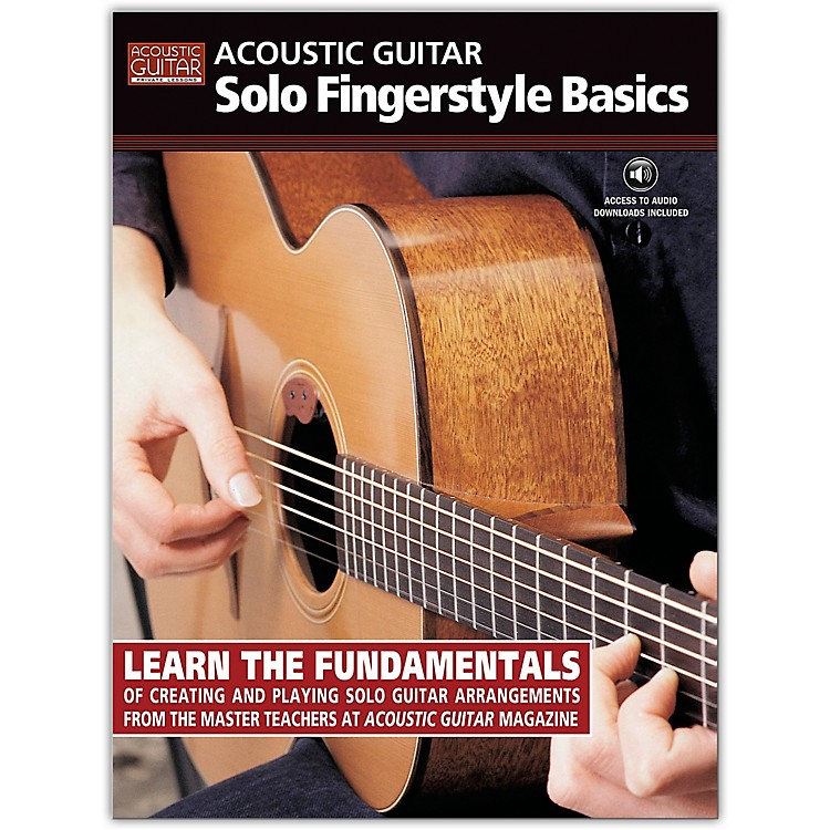 String Letter Publishing Acoustic Guitar Solo Fingerstyle Basics (Book/Online Audio)