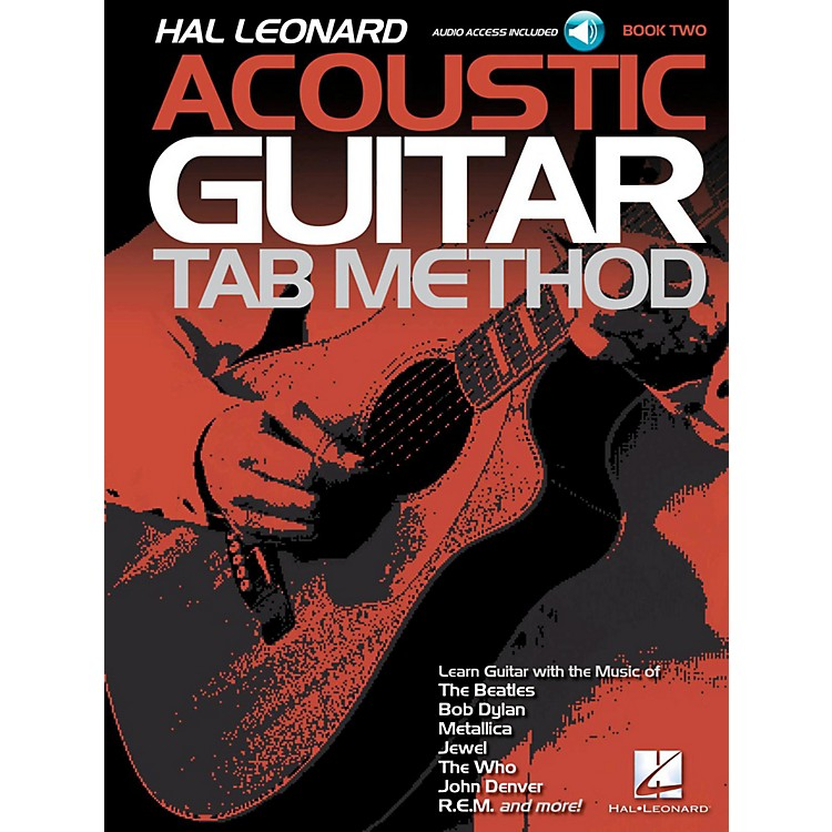 Hal LeonardAcoustic Guitar Tab Method  Book 2 Book/Audio Online
