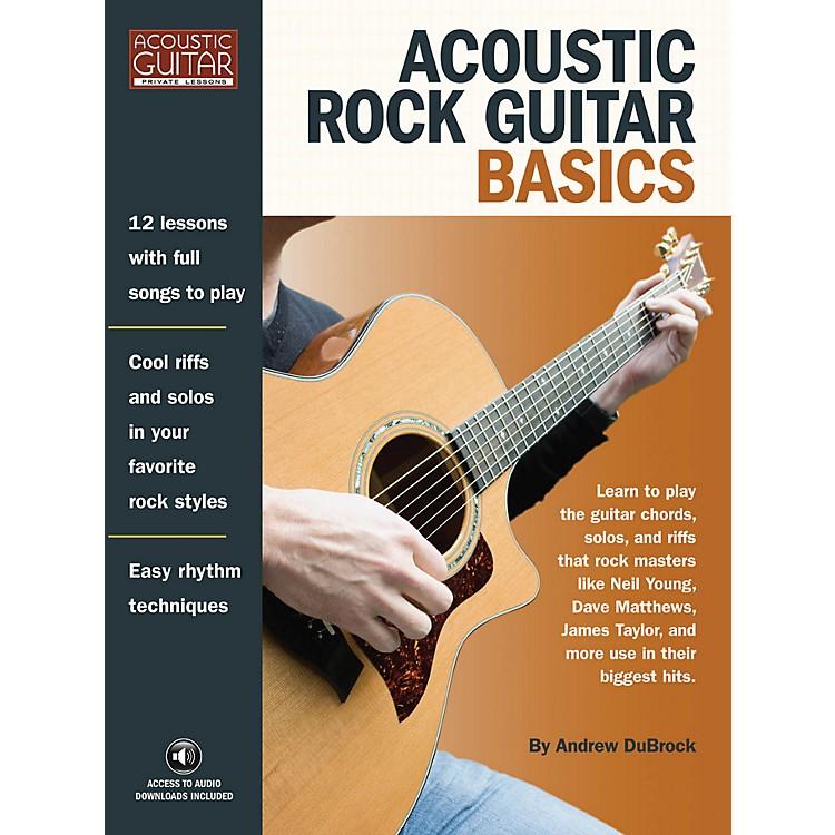 Hal LeonardAcoustic Rock Guitar Basics