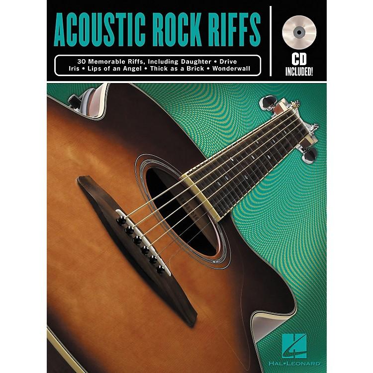 Hal LeonardAcoustic Rock Guitar Riffs Book/CD