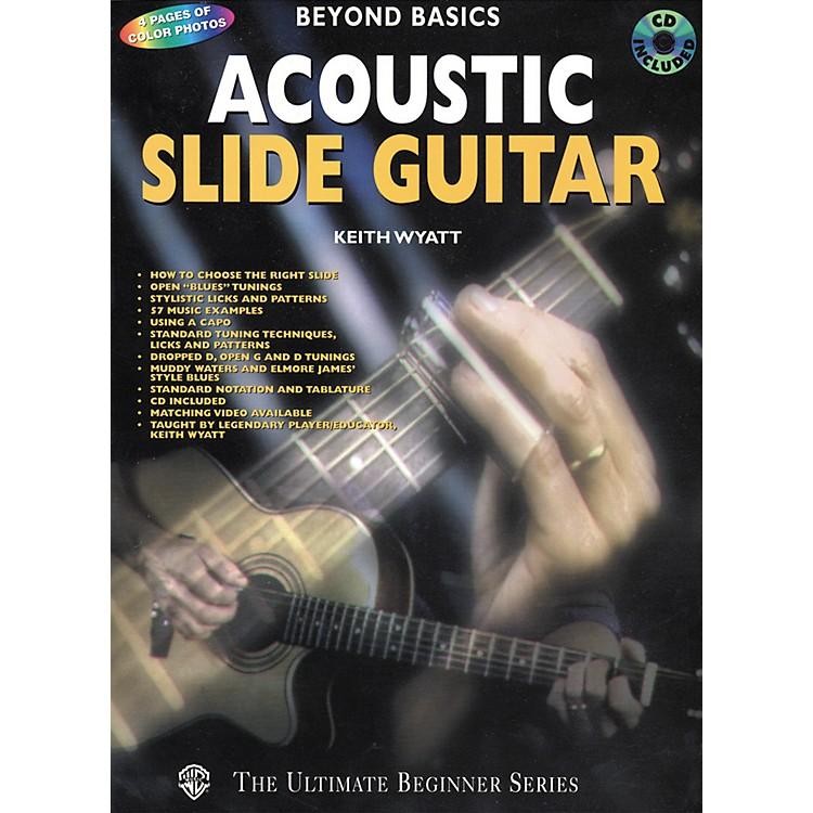 AlfredAcoustic Slide Guitar Book/CD