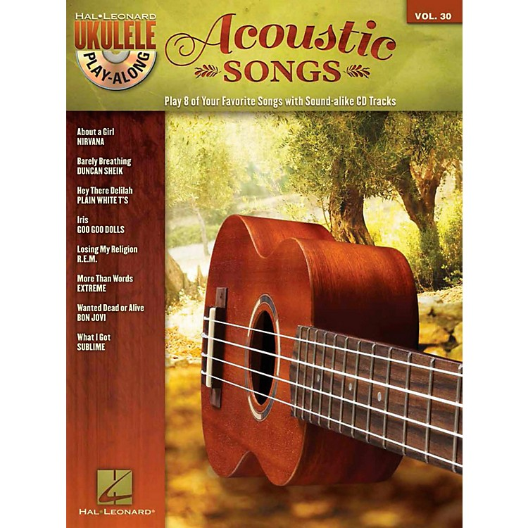 Hal Leonard Acoustic Songs - Ukulele Play-Along Vol. 30 Book/CD