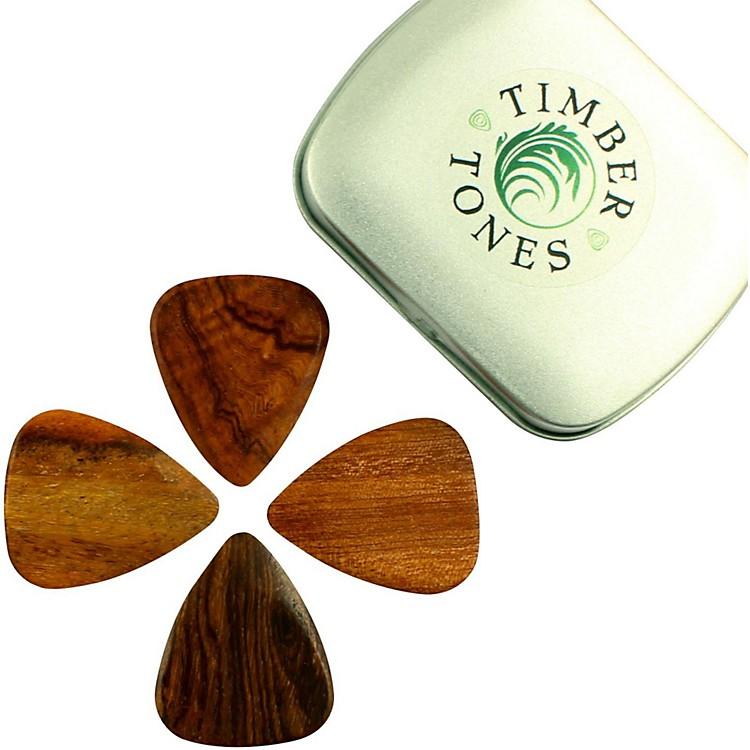 Timber TonesAcoustic Tin of 4 Guitar Picks