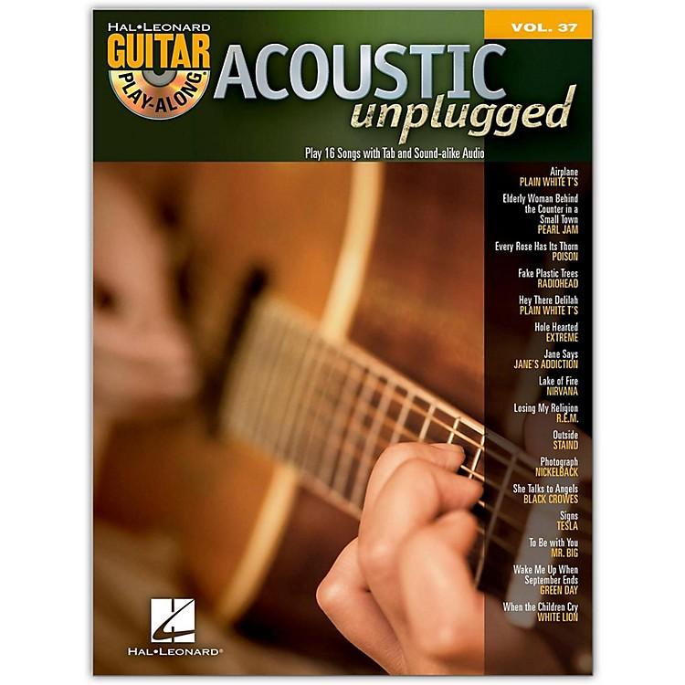 Hal LeonardAcoustic Unplugged Play-Along, Volume 37 (Book/CD)