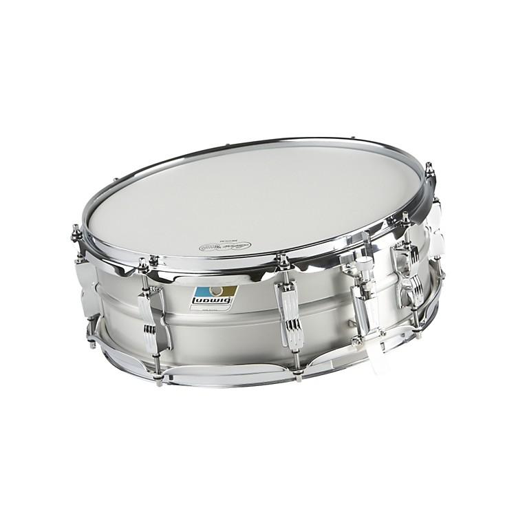 LudwigAcrolite Classic Aluminum Snare DrumMatte Finish5x14