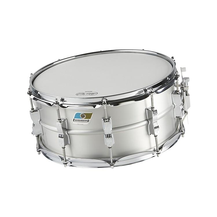 LudwigAcrolite Classic Aluminum Snare DrumMatte Finish886830891007