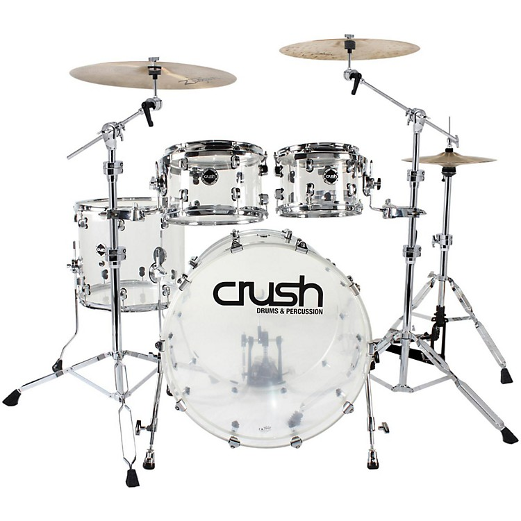 Crush Drums & PercussionAcrylic 4-Piece Shell Pack