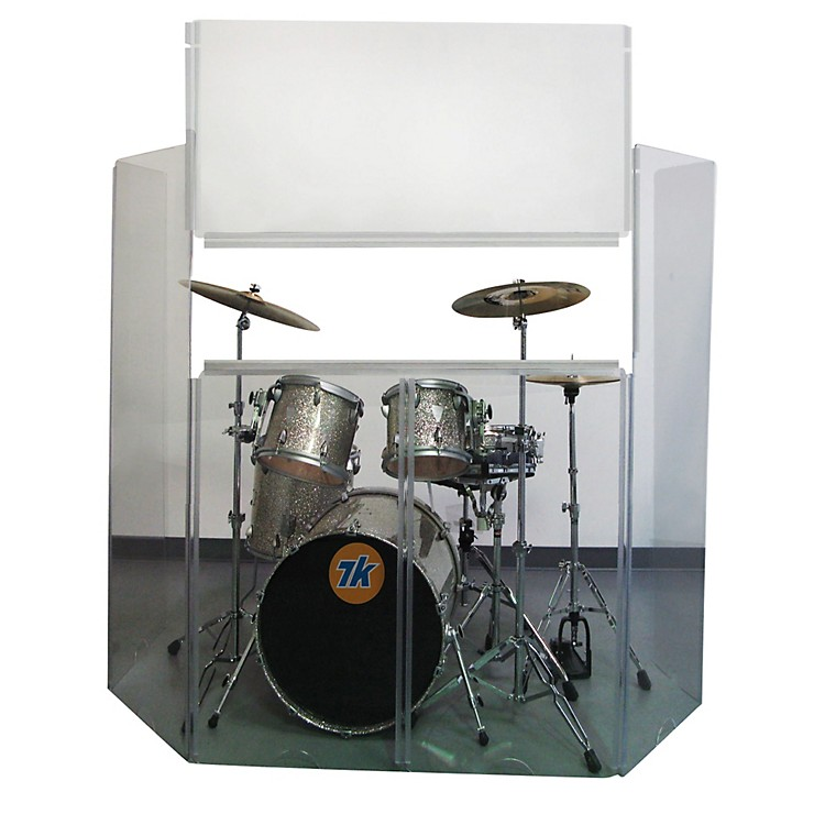 Control AcousticsAcrylic Drum Shield with Removable Front Panel