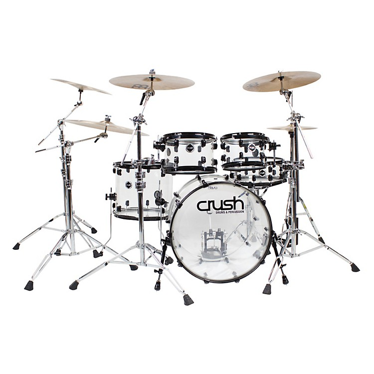 Crush Drums & PercussionAcrylic Series 5-Piece Shell Pack