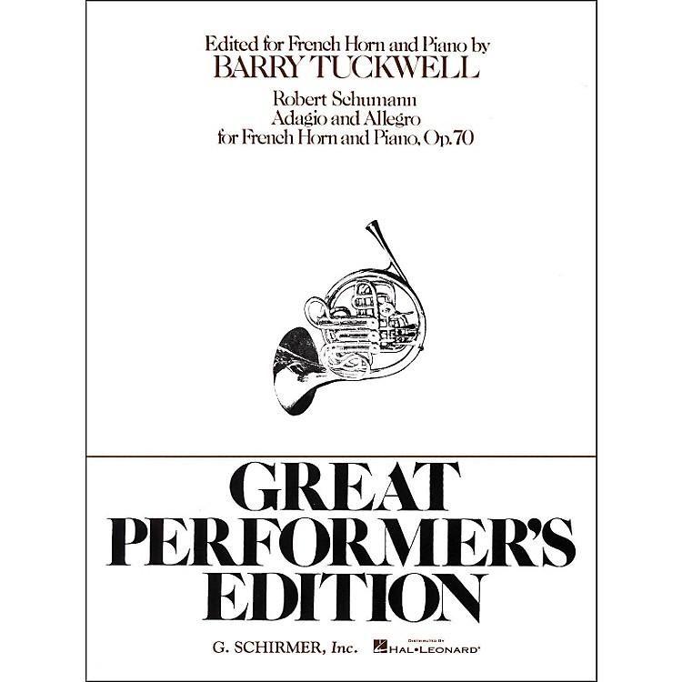 G. SchirmerAdagio And Allegro F Hrn/Pn Great Performers Edition