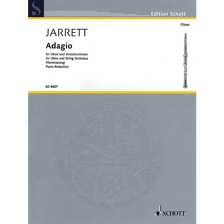 SchottAdagio (Oboe and Piano Reduction) Woodwind Series Book