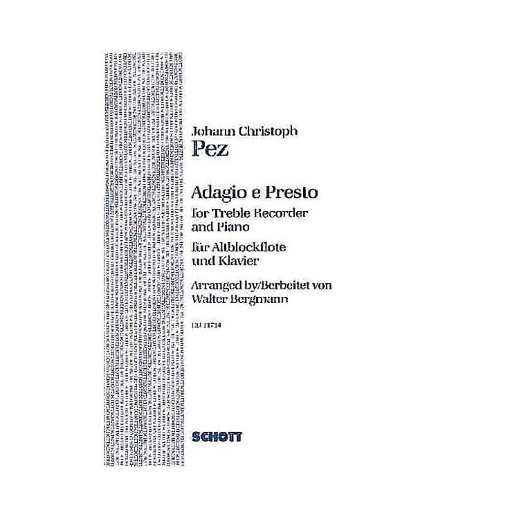 SchottAdagio and Presto Schott Series