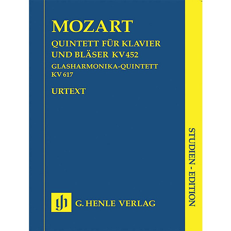 G. Henle VerlagAdagio and Rondo K617 Henle Study Scores Series Softcover Composed by Wolfgang Amadeus Mozart