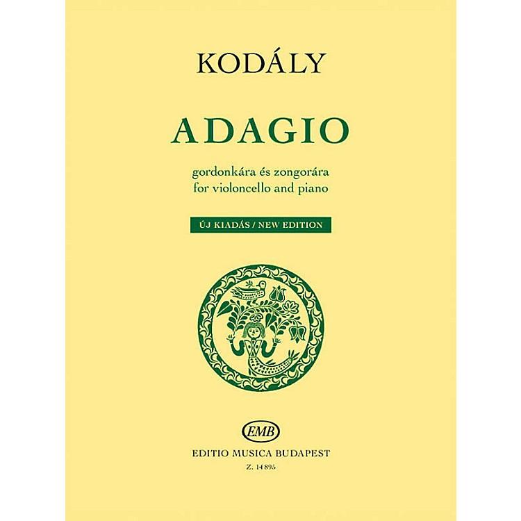 Editio Musica BudapestAdagio for Violoncello and Piano - New Edition EMB Series Softcover