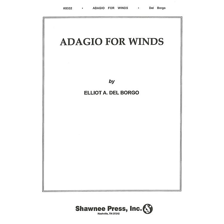 Hal LeonardAdagio for Winds Concert Band Level 3 Composed by Elliot Del Borgo